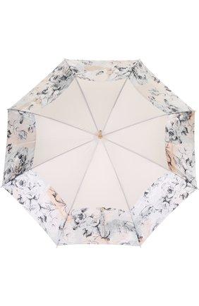 Зонт-трость Pasotti Ombrelli кремовый | Фото №1