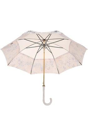 Зонт-трость Pasotti Ombrelli кремовый | Фото №3