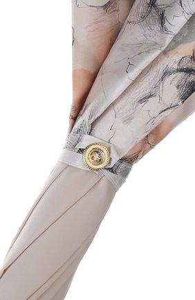 Зонт-трость Pasotti Ombrelli кремовый | Фото №5