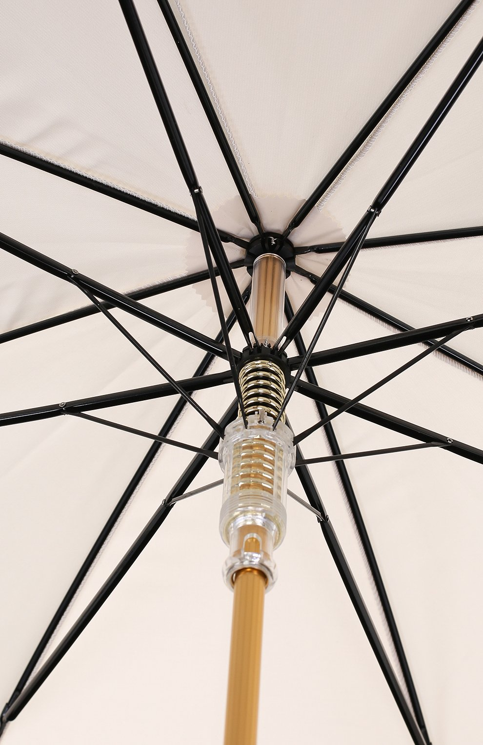 Зонт-трость Pasotti Ombrelli кремовый | Фото №6