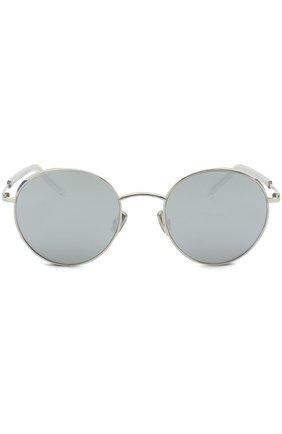 Солнцезащитные очки Dior серебряные | Фото №1