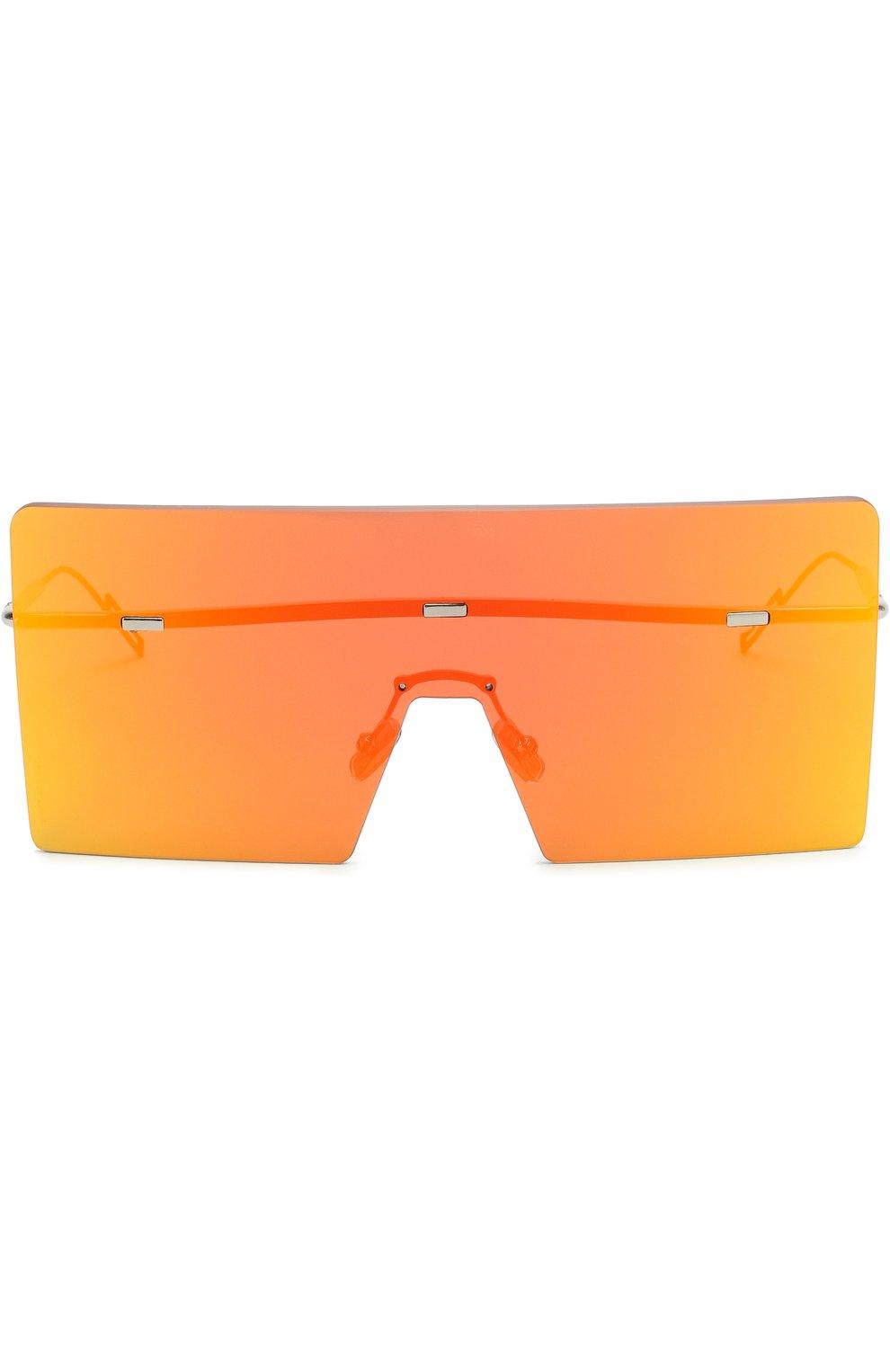 Мужские солнцезащитные очки DIOR оранжевого цвета, арт. HARDI0R G2I 61 | Фото 2