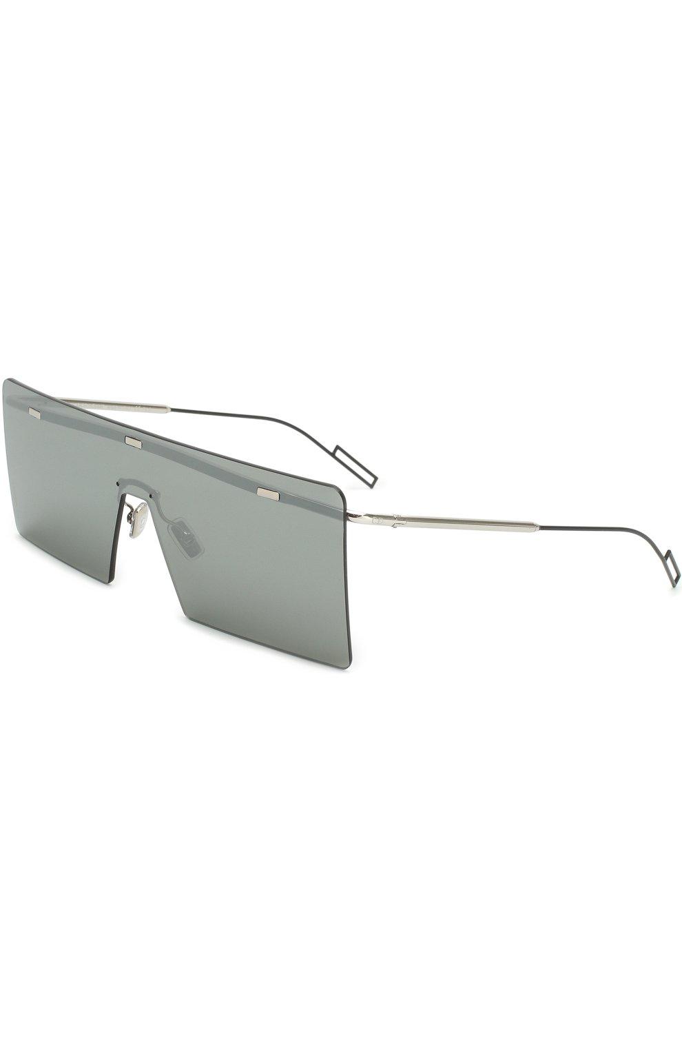 Мужские солнцезащитные очки DIOR серого цвета, арт. HARDI0R 010 48   Фото 1