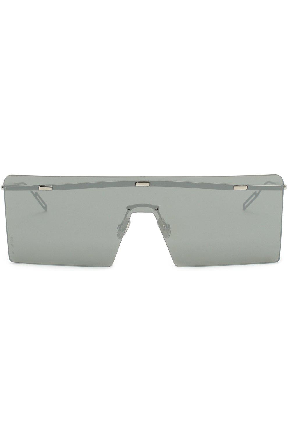 Мужские солнцезащитные очки DIOR серого цвета, арт. HARDI0R 010 48   Фото 2