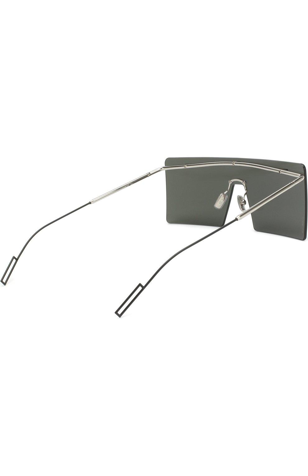 Мужские солнцезащитные очки DIOR серого цвета, арт. HARDI0R 010 48   Фото 3