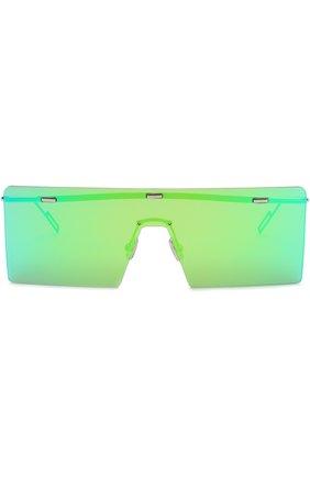 Женские солнцезащитные очки DIOR зеленого цвета, арт. HARDI0R KTU 48 | Фото 2