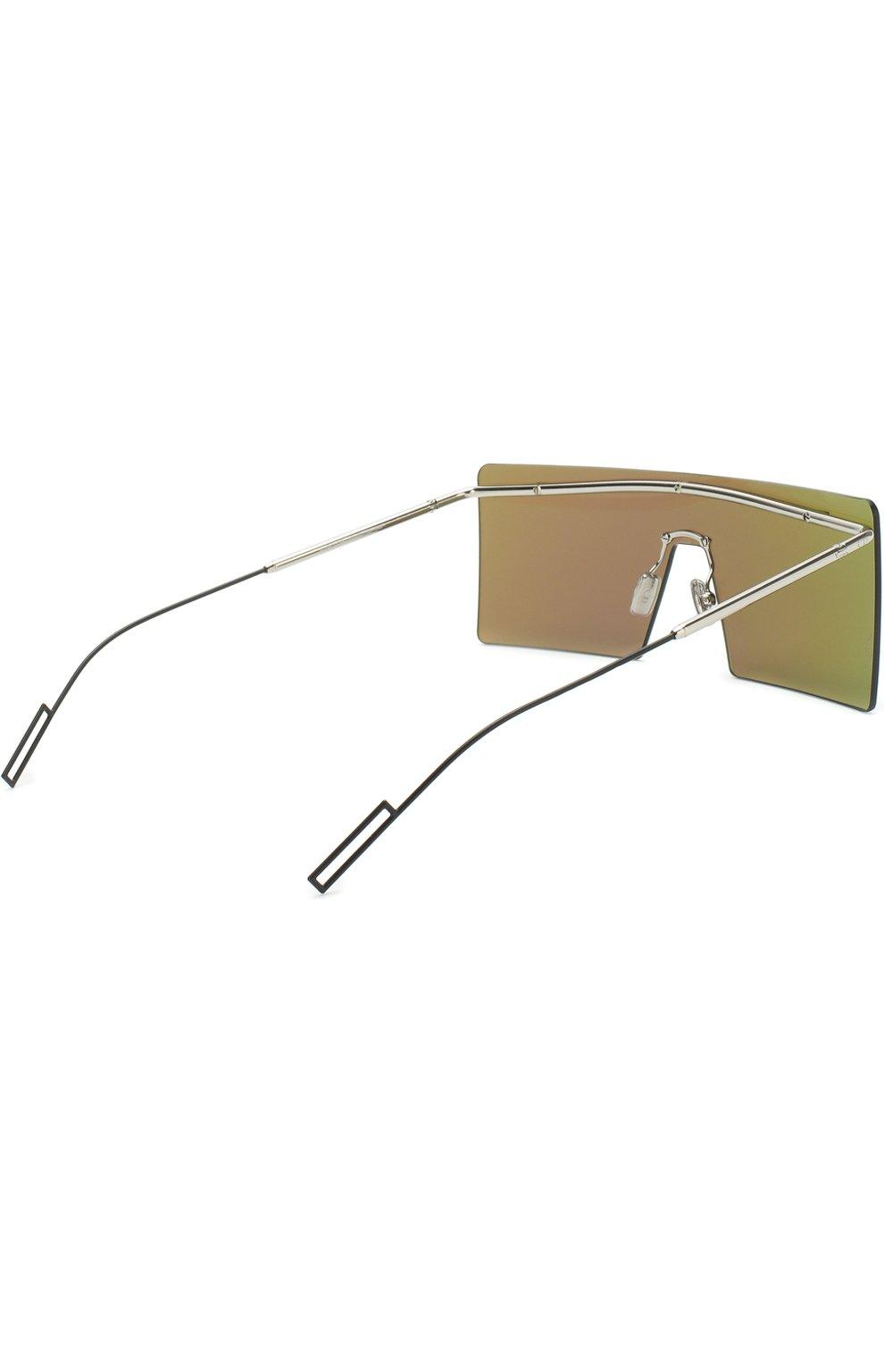 Женские солнцезащитные очки DIOR зеленого цвета, арт. HARDI0R KTU 48 | Фото 3