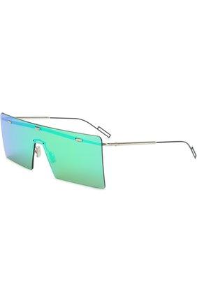 Солнцезащитные очки Dior зеленые | Фото №1