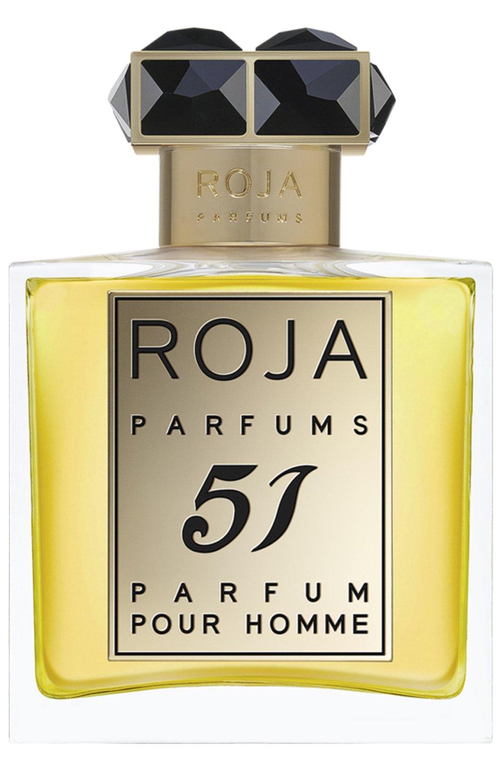 Мужской духи 51 pour homme ROJA PARFUMS бесцветного цвета, арт. 5060399672764   Фото 1 (Статус проверки: Проверена категория; Ограничения доставки: flammable)