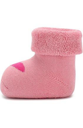 Хлопковые носки с принтом   Фото №2