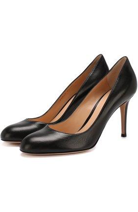 Кожаные туфли Florence 85 на шпильке   Фото №1