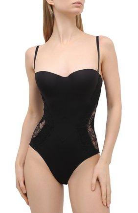 Женское боди LA PERLA черного цвета, арт. 905863B | Фото 2
