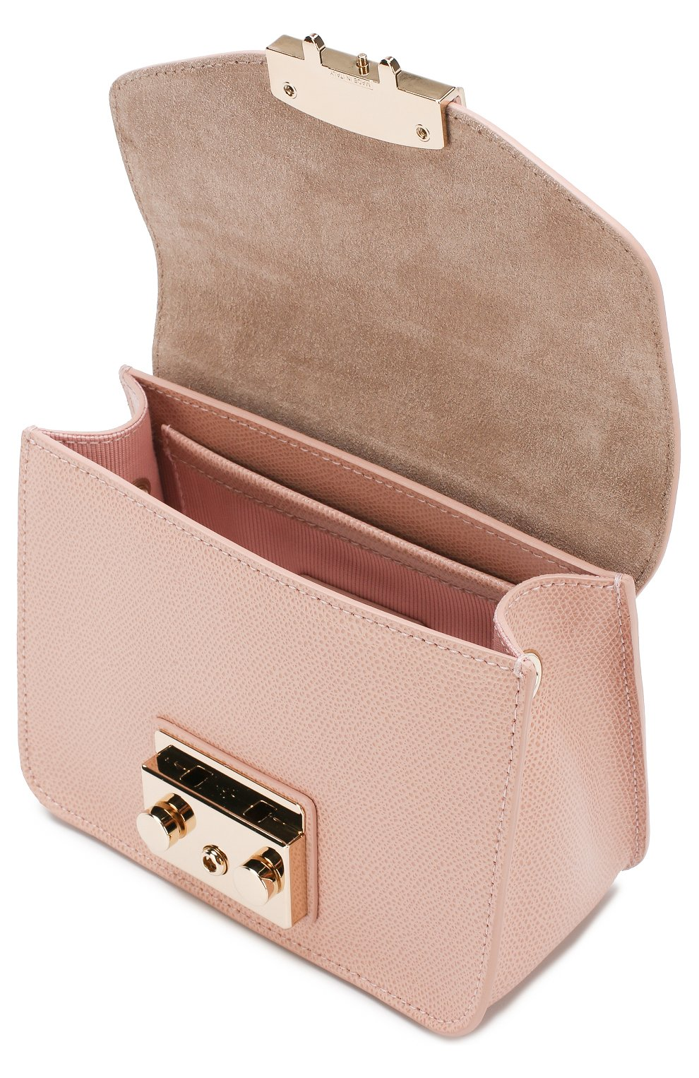 Сумка Metropolis  Furla светло-розовая цвета | Фото №4