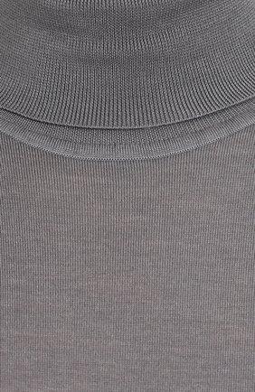 Водолазка из смеси шерсти и кашемира с шелком | Фото №5