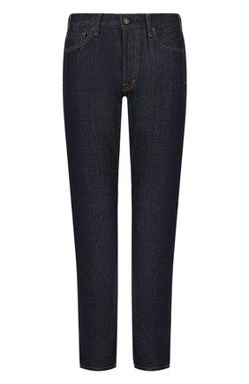 Мужские джинсы прямого кроя TOM FORD темно-синего цвета, арт. BLJ11TFD002 | Фото 1