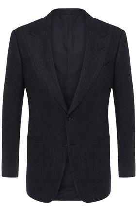 Однобортный пиджак из смеси шерсти и кашемира