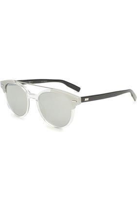 Солнцезащитные очки Dior черно-белые | Фото №1