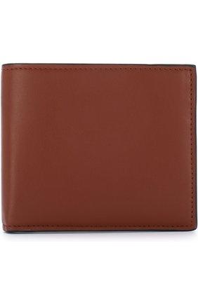 Мужской кожаное портмоне с отделениями для кредитных карт BRIONI светло-коричневого цвета, арт. 0HPV0L/06752 | Фото 1