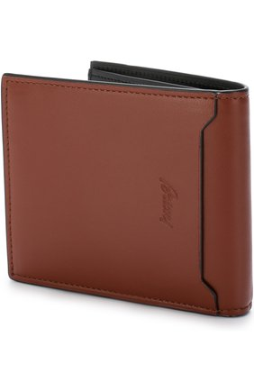 Мужской кожаное портмоне с отделениями для кредитных карт BRIONI светло-коричневого цвета, арт. 0HPV0L/06752 | Фото 2