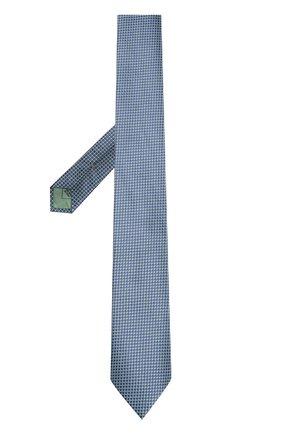 Мужской шелковый галстук BRIONI зеленого цвета, арт. 063I00/P7467 | Фото 2