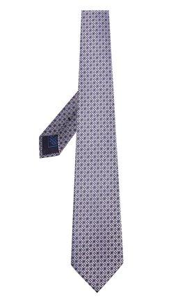 Мужской шелковый галстук BRIONI сиреневого цвета, арт. 062H00/P7417   Фото 2