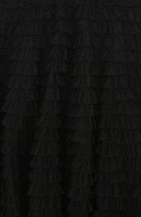 Юбка с эластичным поясом и многослойными оборками | Фото №3