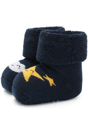 Хлопковые носки с принтом   Фото №1