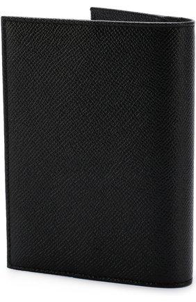 Женские кожаная обложка для паспорта DOLCE & GABBANA черного цвета, арт. BI2215/A1001 | Фото 2