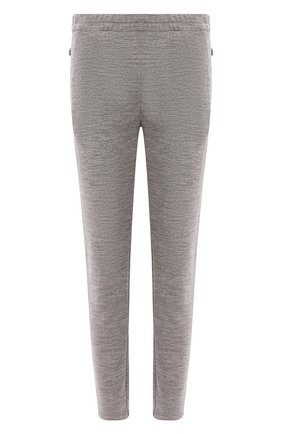 Мужской шерстяные брюки Z ZEGNA серого цвета, арт. V8475/ZZTP60 | Фото 1