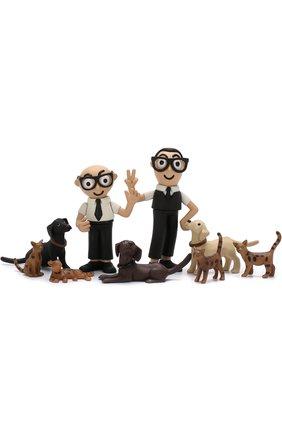 Набор игрушек из девяти предметов DG Family | Фото №1