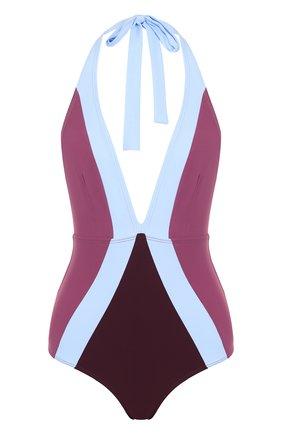 Слитный купальник с открытой спиной Flagpole разноцветный | Фото №1
