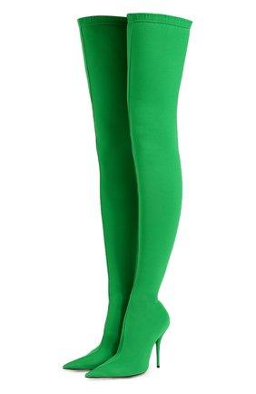 2fd8ec8f7f87 Зелёные женские сапоги Balenciaga купить в интернет-магазине ЦУМ