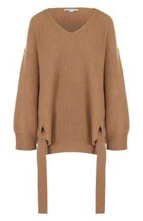 Пуловер свободного кроя из смеси шерсти и кашемира