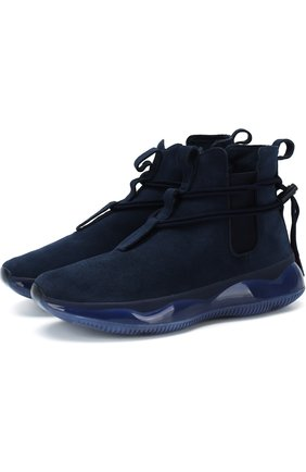 Замшевые кроссовки 58 Bright St DMX Beta10 Reebok синие   Фото №1