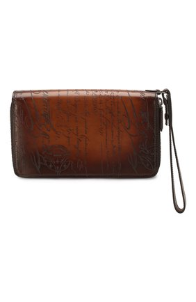 Мужская кожаный футляр для документов BERLUTI светло-коричневого цвета, арт. N057518 | Фото 1