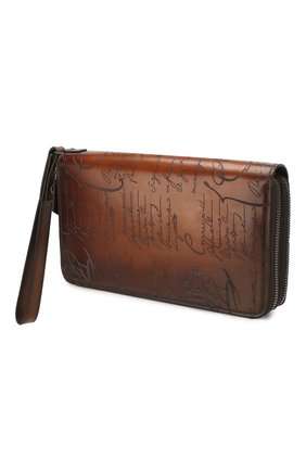 Мужская кожаный футляр для документов BERLUTI светло-коричневого цвета, арт. N057518 | Фото 2
