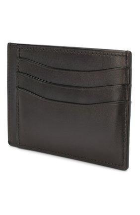 Мужской кожаный футляр для кредитных карт BERLUTI черного цвета, арт. N083775 | Фото 2