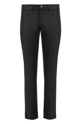 Шерстяные брюки прямого кроя | Фото №1