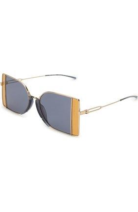 Солнцезащитные очки CALVIN KLEIN 205W39NYC желтые | Фото №1