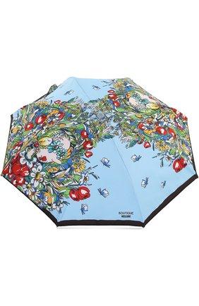 Складной зонт с принтом   Фото №1