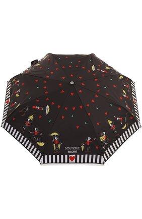 Складной зонт с принтом | Фото №1