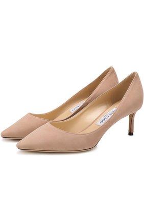Замшевые туфли Romy 60 | Фото №1