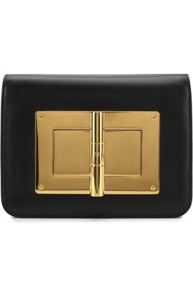 Женская сумка medium natalia TOM FORD черного цвета, арт. LM225T/MSG   Фото 1