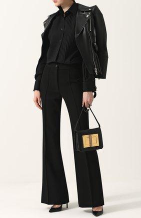 Женская сумка medium natalia TOM FORD черного цвета, арт. LM225T/MSG   Фото 2