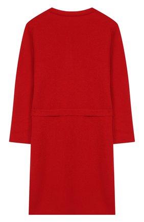 Кашемировый халат с поясом   Фото №2
