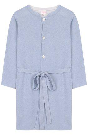 Кашемировый халат с поясом | Фото №1