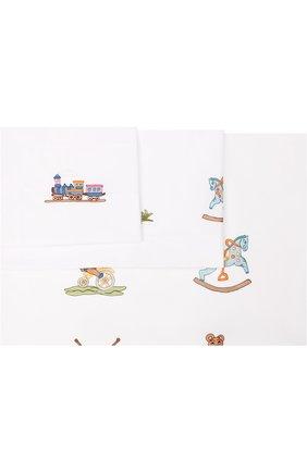 Хлопковый комплект постельного белья из трех предметов | Фото №1
