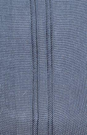 Мужские шелковые носки BRIONI голубого цвета, арт. 0VMC00/P3Z21 | Фото 2