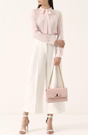 Сумка Ginny Salvatore Ferragamo светло-розовая | Фото №1