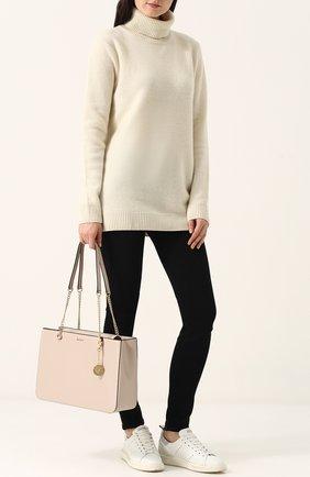 Сумка-шоппер Bryant Park DKNY молочная цвета | Фото №1